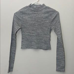 H&M Basic Long Sleeve CropTop